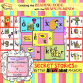 The SECRET STORIES® Vertical/Horizontal Alphabet Set (w/ P
