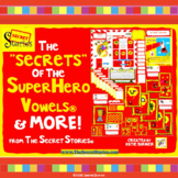 "Secret Stories® ""SECRETS"" of Superhero Vowels® Phonics Pos"