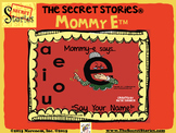 "SECRET STORIES Mommy E® /Phonics Posters ""Secret!"""