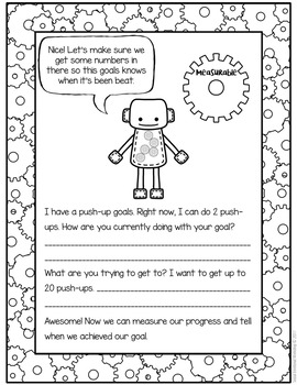 SMART Goal Setting: Small Groups Set Goals for the Year