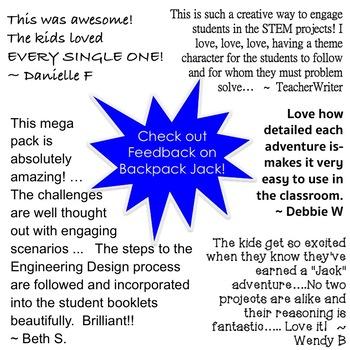 The STEM STEAM Adventures (# 7 - 9) of Backpack Jack -- 3-Pack BUNDLE
