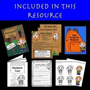 STEM Adventures of Backpack Jack: In the Windy Woods  Sturdy Shelter Challenge