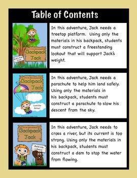 The STEM Adventures of Backpack Jack -- MEGA Pack -- 9 Complete Lessons!