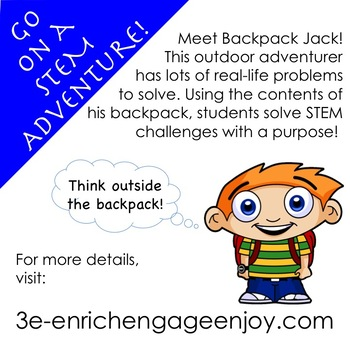 The STEM Adventures of Backpack Jack --  Pyramid Edition