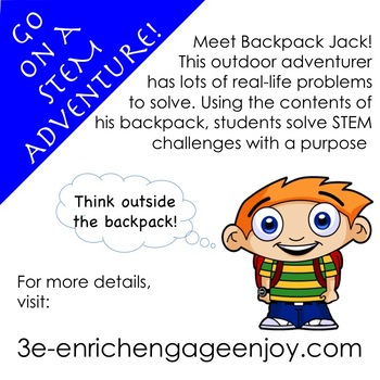The STEM STEAM Adventures (# 16 - 18) of Backpack Jack -- 3-Pack BUNDLE