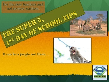 The SUPER 5 Back To School Tips