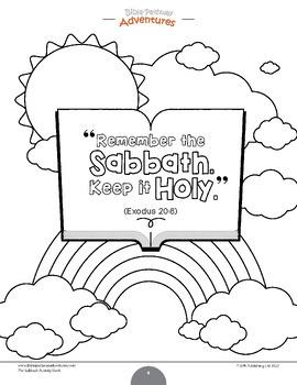 The Sabbath Bible Activity Book