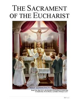 The Sacrament of Holy Eucharist Book