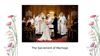 The Sacrament of Marriage - Sacrament of Service