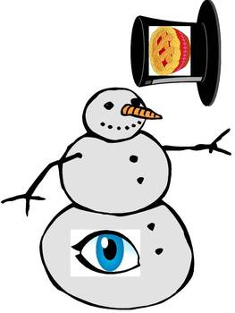 The Sad Snowman - A Winter Initial Phoneme Deletion Game