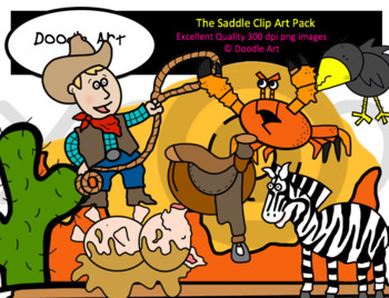 The Saddle Clipart Pack