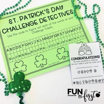 The Saint Patrick's Day Challenge