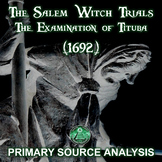 The Salem Witch Trials - The Examination of Tituba (1692)