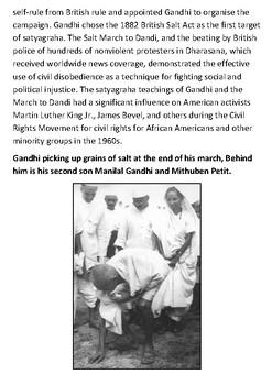 The Salt March Handout