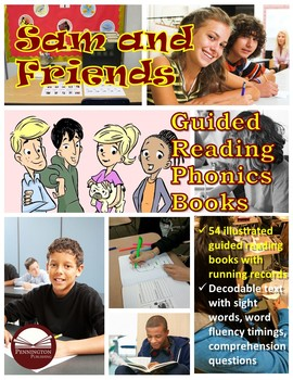 Sam and Friends Guided Reading Phonics Books