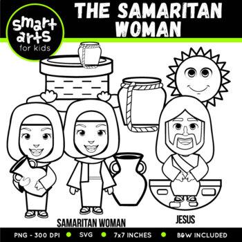 The Samaritan Woman Clip Art