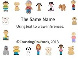 The Same Name: Making Inferences from Text