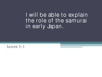 The Samurai Powerpoint