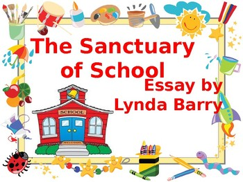 the sanctuary of school reading check answers