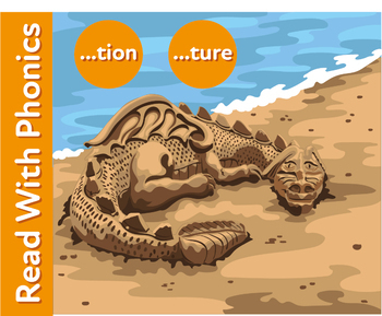 The Sand Castle: Learn The Phonic Sound 'tion' (as in imagination)