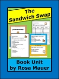 The Sandwich Swap Distance Learning School or Home Book Activities Reading