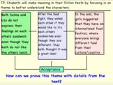 The Sandwich Swap Theme Read Aloud