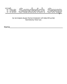 The Sandwich Swap booklet