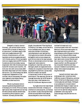 The Sandy Hook Elementary School Massacre