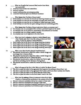 The Santa Clause Film (1994) 15-Question Multiple Choice Quiz