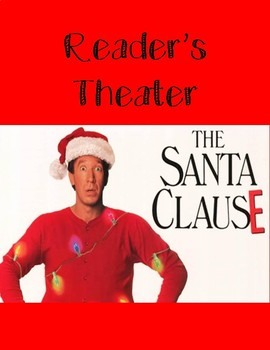 Christmas Reader's Theater Script based on Santa Clause the Movie