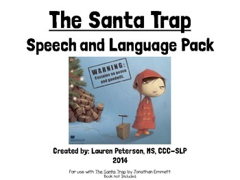 The Santa Trap Speech and Language Activity Pack
