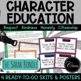 The Sarah Character Education Bundle - Respect Kindness Honesty Citizenship