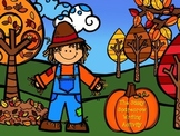 The Sassy Scarecrow - Writing Activity