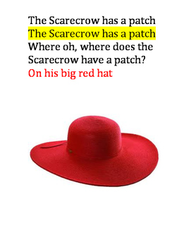 The Scarecrow Has a Patch