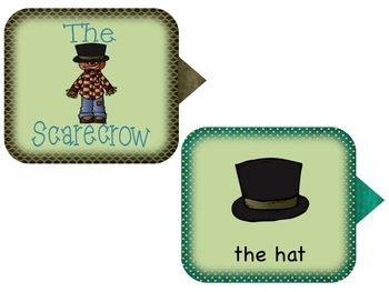 The Scarecrow Retelling Mini Unit