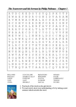 The Scarecrow and his Servant - Chapter 3 Word Search