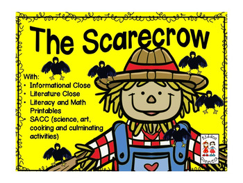 The Scarecrow with Closes, Shared Reading, Math and Literacy and SACC