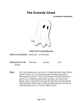 The Scaredy Ghost - Small Group Reader's Theater