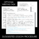Scarlet Ibis, James Hurst, 3-day lesson, lit. analysis & w