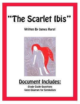 """The Scarlet Ibis"" Guided Reading Questions"