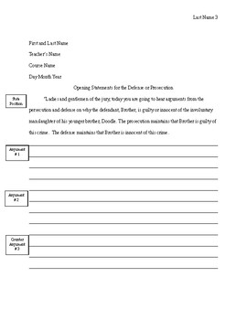 The Scarlet Ibis Persuasive Writing Prompt and Rubric