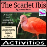 The Scarlet Ibis Short Story Activities and Essay