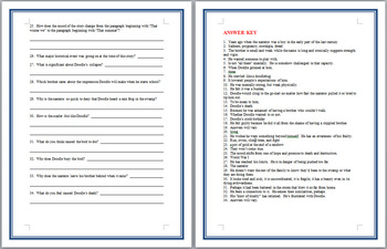 Scarlet ibis short story worksheets & teaching resources | tpt.