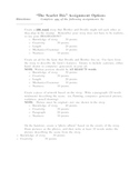 The Scarlet Ibis by James Hurst Assignment Options
