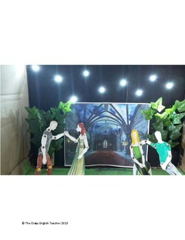 The Scarlet Letter 3D Scene Analysis Diorama