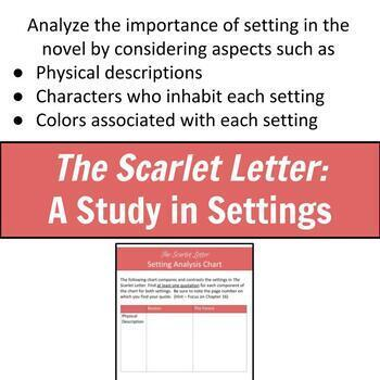 The Scarlet Letter: A Study in Settings