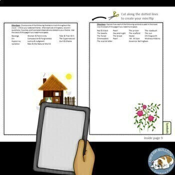 The Scarlet Letter Activity Mini Bundle
