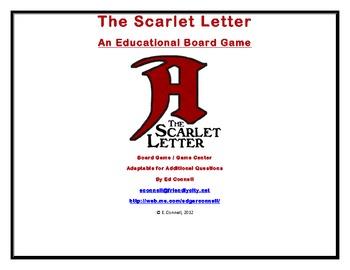 The Scarlet Letter Board Game