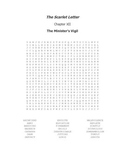 The Scarlet Letter Ch. XII Vocabulary Word Search