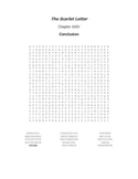 The Scarlet Letter Ch. XXIV Vocabulary Word Search